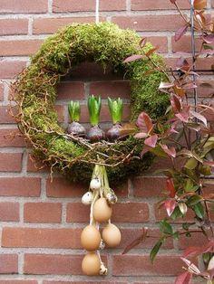 Den Frühling ins Haus bringen mit diesen prächtigen Osterkränzen... 8 Ideen - Seite 8 von 8 - DIY Bastelideen