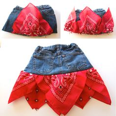 Bandana-skirt-5 ..this would be cute for you to make Ava @kimberlysheerin
