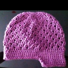 Crocheted Hat I made for my Niece <3