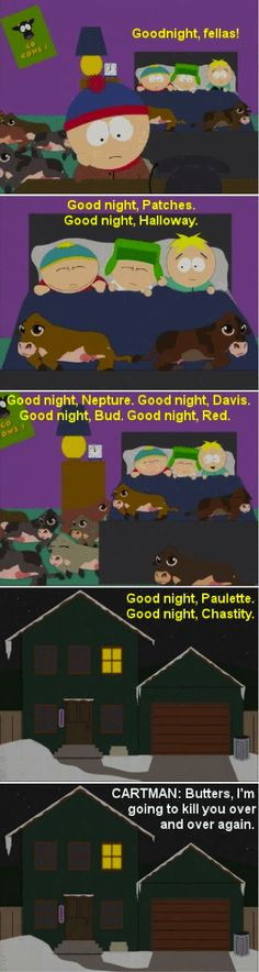 Probably the best source for South Park gifs. Best Of South Park, South Park Funny, South Park Memes, Trey Parker, Goin Down, Best Cartoons Ever, Funny Memes, Hilarious, Out Of Touch