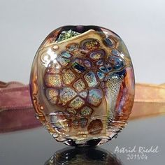Astrid Riedel Glass Artist - with Dragon's Breaths Shards!!!