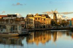 Leiden Holland - birthplace of Rembrandt