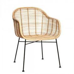 rattan metal chair - Google Search