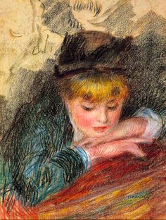1879 Pierre Auguste Renoir (French Impressionist; 1841-1919) ~ 'The Loge'
