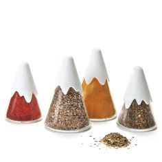 Gewürzstreuer Himalaya, 4er-Set - Monkey Business #spice #salt #pepper #shaker