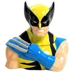 Wolverine Cookie Jar by Westland Giftware