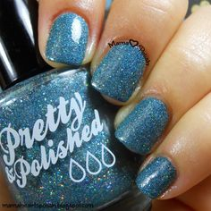 Mama Hearts Polish: Pretty & Polished The Skies Are Falling swatch and review.