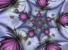 Fractal Fantasy Butterflies by Gabiw Art