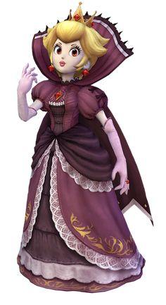 Evil Princess Peach Project M Super duper evil princess