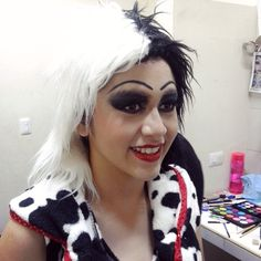 cruela de vil. maquillaje, makeup by mariana millet, mua