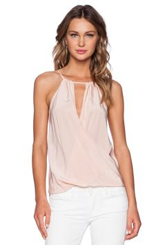 65ac3166928 Amanda Uprichard Janica Top in Ballet Blush Pink Top