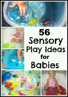 Sensory play for Babies