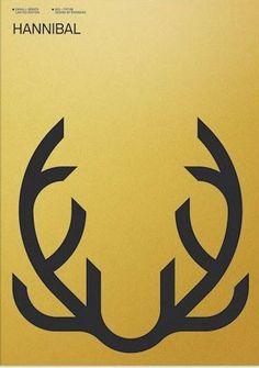 Hannibal (2013– ) ~ Minimal TV Series Poster by Albert