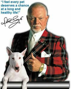 Dog lover, Don Cherry.