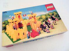 Lego 375 Ritterburg OVP BA 1978 - cyan74.com vintage and pop culture