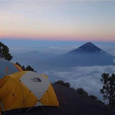 Stamp #581 - Guatemala: Volcano Hiking in #Guatemala! Spend the night at 3615 M with a breathtaking view over Antigua and Volcano 'Agua.' The Volcano 'Acatenango' Hike is a must! It is definetly a difficult hike but tottaly worth! You have an awesome view over Antigua Guatemala City Vulcano de Agua and the active Vulcano Fuego! You'll see some eruptions and lava. Thank you @travel_nuts for leaving your #Stamp!! For more awesome #travel tips and adventures download the Stamp Travel App Today…
