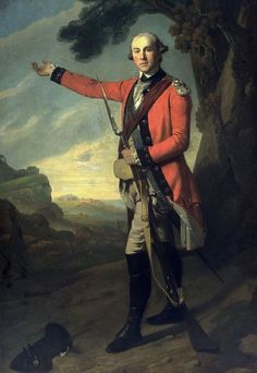 """""""Major Patrick Campbell"""" by Anonymous (late 18th century) 