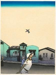 Hodaka Yoshida Hiroshi Yoshida, Family Print, Japan Art, Woodblock Print, Printmaking, Japanese, Watercolor, Illustration, Artist