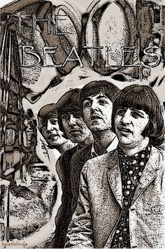 The Beatles - Graphics by Me. Beatles Art, The Beatles, Magazine Covers, Liverpool, Posters, Graphics, Rock, Fictional Characters, Musik