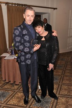 Fashion and Hollywood Come Together for amfAR Inspiration Gala: Alan Cumming and Liza Minelli