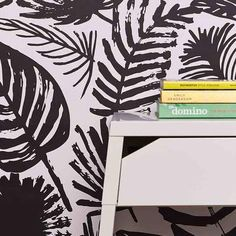 Chasing Paper's designs are colorful. Chicago House, Wallpaper Maker, Temporary Wallpaper, Flora And Fauna, Peel And Stick Wallpaper, Cozy House, Home Remodeling, Pattern Design, Kids Room