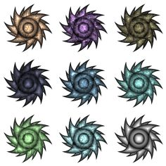 """It looks very cool if you use it in any blend draw mode. So I call these """"BlendBlade"""" Top Down Game, Make Your Own Game, Build Something, Game Assets, Different Colors, Draw, Abstract, Random, Summary"""