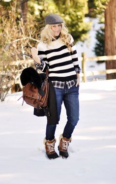 20 Ways to Look Stylish in Winter Boots