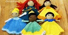 Crochet Bebe, Cute Crochet, Crochet Dolls, Knit Crochet, Crochet Hats, Crochet Things, Crochet Lovey Free Pattern, Crochet Blanket Patterns, Baby Blanket Crochet