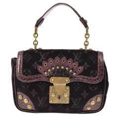 Louis Vuitton Irvine Hand Monogram Velour Fa00066 Purple Tote Bag. Get one of the hottest styles of the season! The Louis Vuitton Irvine Hand Monogram Velour Fa00066 Purple Tote Bag is a top 10 member favorite on Tradesy. Save on yours before they're sold out!