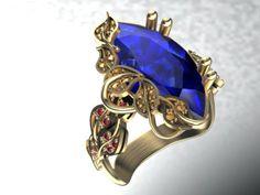 Ring  earrings set