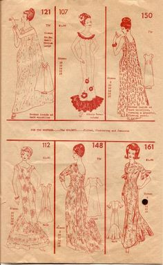 Polynesian (sewing) or Hawaiin Patterns Catalogue 60s Patterns, Vintage Sewing Patterns, Dress Patterns, Clothes Crafts, Sewing Clothes, Love Sewing, Sewing Tips, Hand Sewing, Sewing Projects