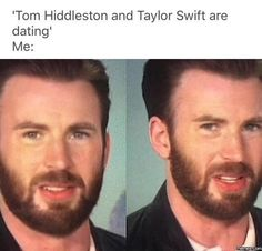 Hahah yes my reaction to Tom Hiddleston and Taylor Swift are dating... #Funny #Memespic.twitter.com/ITIBi14EDf http://ibeebz.com