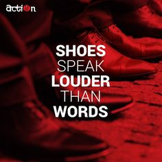 Do you agree? #ActionShoes