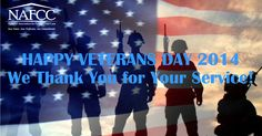 We would like to take this opportunity to say thank you to all who have served our country. Happy Veterans Day!