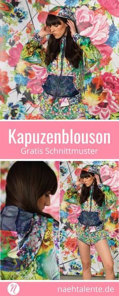 Jerseykleid mit Volant-Saum | Nähen | Pinterest | Sew dress, Sewing ...