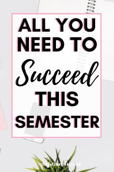 Are you about to start college? Wondering how to prepare for a successful semester? Here's everything you need to know to crush your semester and ace all your classes. If you're a freshman, this a must read and has tons of useful advice every college freshman should know! #startsemester #howtoprepareforcollege College Binder, College Hacks, Study Skills, Study Tips, College Survival Guide, All Colleges, College Success, Brain Tricks, University Life