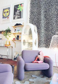 Le Kube Studio, Oakland  sfgirlbybay / bohemian modern style from a san francisco girl
