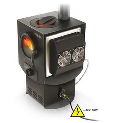 HIG proudly present the unique electricity generating wood burning stove INDIGIRKA-2