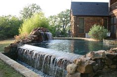 pools and spas that blend into the woods - Google Search