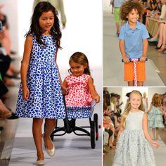 Oscar de la Renta Kids Fashion Show S/S13 - Baby Shopaholic