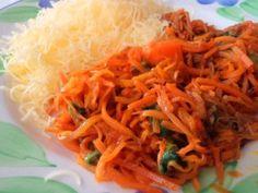 tepelne upravene mrkvove spagety