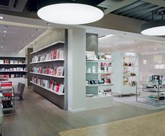 Be inspired in the book corner full of creative books on art, design, fashion, crafts and more. At the  Paperchase flagship store, Tottenham Court Road London.