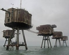 Mansell Sea Forts, UK - DAILYBEST