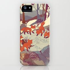 Fisher Fox iPhone Case $35.00 Impact resistant, flexible plastic hard case. Direct access to all device features!!! LOVE
