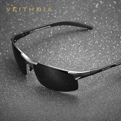 9179b00e076e VEITHDIA Men s Polarized Sunglasses Aluminum Frame