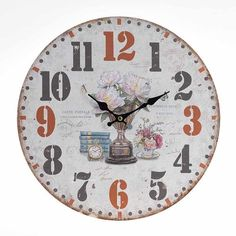 If you like antique wall clocks, you will definitily love this one! www.inart.com