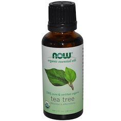 Now Foods, Organic Essential Oils, Tea Tree, 1 fl oz (30 ml) - iHerb.com