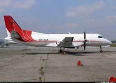 Saab 340AF, Central Connect Airlines, OK-CCK, cn 340A-078, cargo, first flight 26.11.1986 (Bar Harbor Airlines), Central Connect delivered 15.10.2007. Foto: Ostrava, Czech Republic, 18.9.2009.