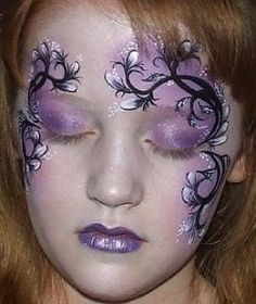 carnival mask face painting - Buscar con Google