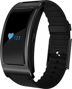 Sabuy Fitness Tracker Bluetooth Smart Band with Heart Rate and Blood Pressure Monitor Smart Bracelet with MultiFunctions Black * You can get more details by clicking on the image. (Note:Amazon affiliate link)
